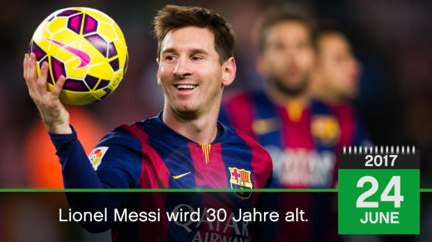 Born This Day: Wunder-Messi feiert den 30.