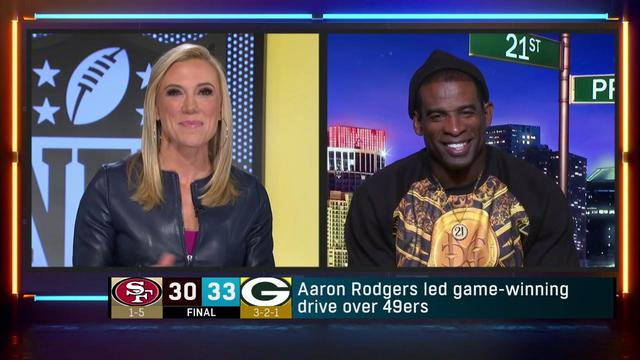 Prime: Green Bay Packers' comeback shows Aaron Rodgers is 'best QB in our game'