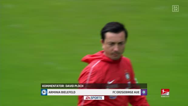 2. Bundesliga: Arminia Bielefeld - FC Erzgebirge Aue   DAZN Highlights