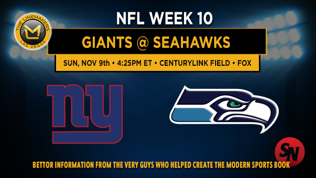 New York Giants @ Seattle Seahawks