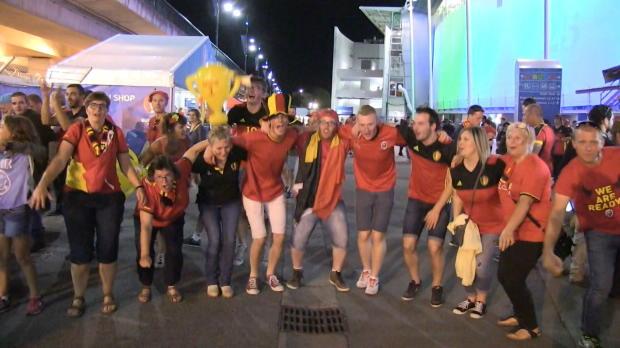 4:0 gegen Ungarn! So feierten Belgiens Fans