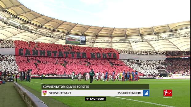 Bundesliga: VfB Stuttgart - TSG Hoffenheim   DAZN Highlights