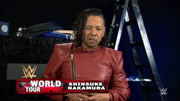 Shinsuke Nakamura returns home this July