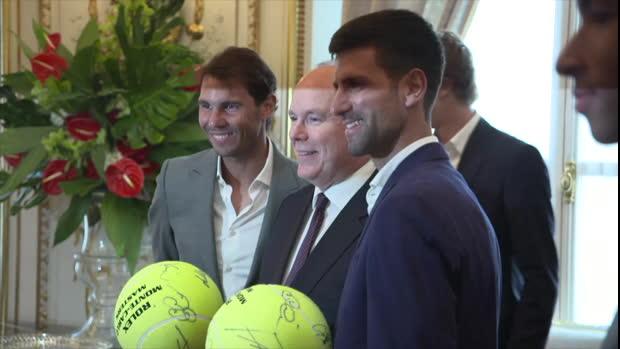 Monte Carlo: Thiem, Zverev und Co. auf Palast-Visite