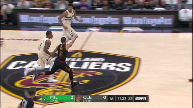 WSC: Khris Middleton (30 points) Highlights vs. Cleveland Cavaliers