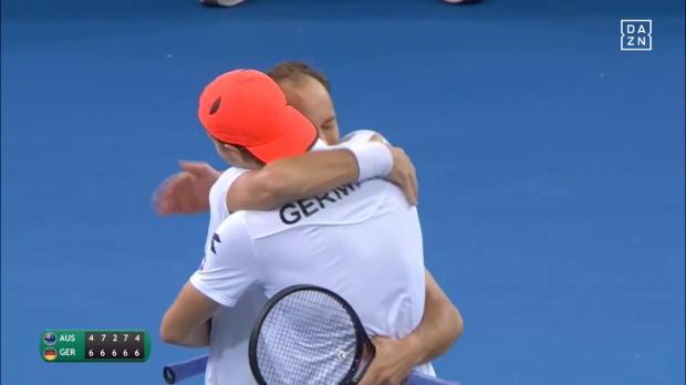 Davis Cup: Mit Tweener zum Doppel-Erfolg