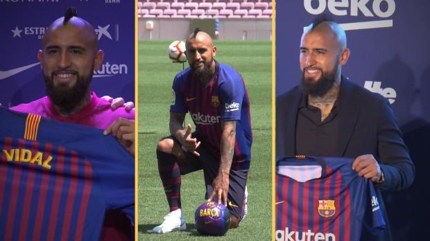"Vidal in Barcelona: ""Bester Verein der Welt"""