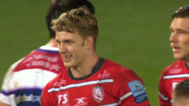 Ollie Thorley - Gallagher Premiership Player of the Month - November
