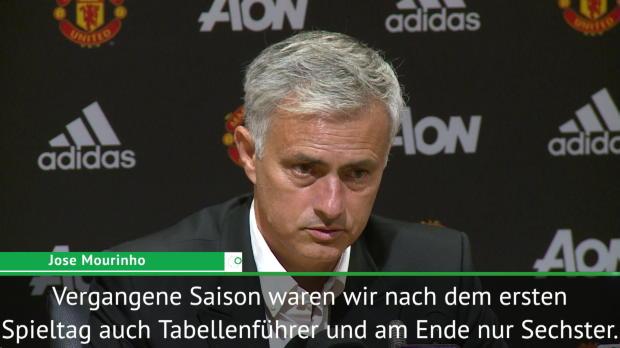 """Mourinho zum Auftaktsieg: """"Bedeutet nichts"""""""