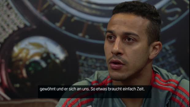 Thiago Alcantara im Interview