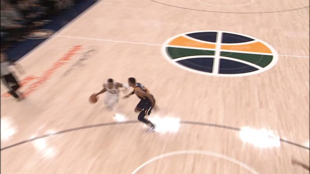 Block of the Night: Rudy Gobert