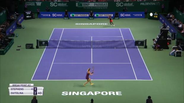 WTA-Finals: Switolina triumphiert in Singapur