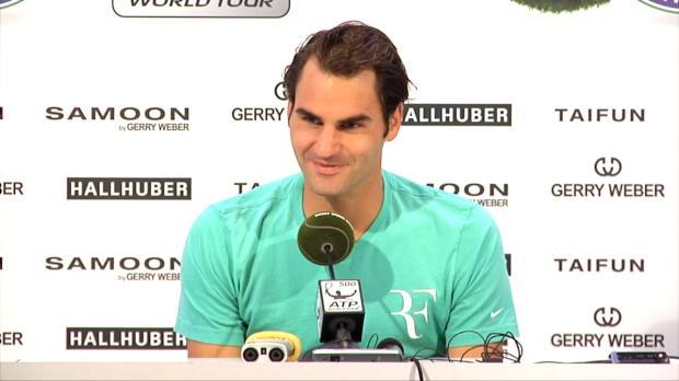 Halle: Federer zu Nole: Er kann alles machen