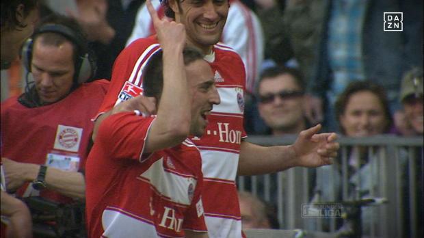 Top10: Die schönsten Tore von Franck Ribery