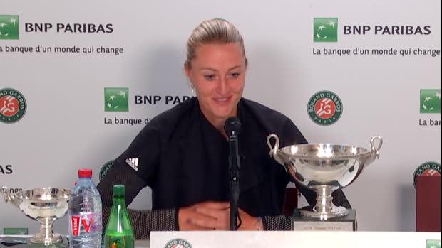 : Roland-Garros - Mladenovic - 'Je suis accro au sport'