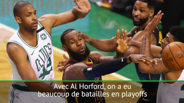 "Basket : Playoffs - LeBron - ""Un respect mutuel avec Al Horford"""