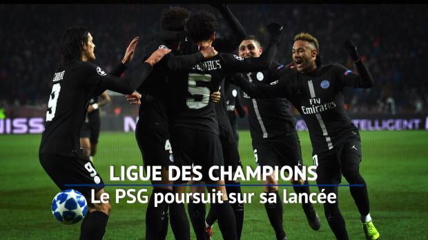 Groupe C - Le PSG poursuit sur sa lancée