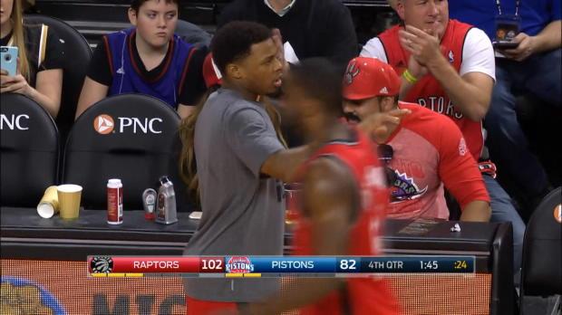 Basket : NBA - Toronto en balade à Detroit