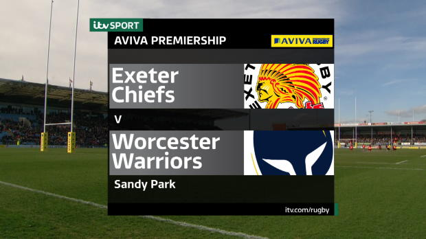 Aviva Premiership - Exeter Chiefs v Worcester Warriors