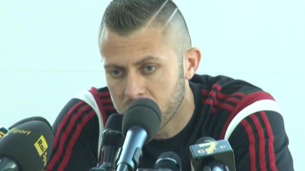Le Français du Milan AC parle forme, résultats récents de son club, importance de la victoire ce week-end et... positionnement préféré.