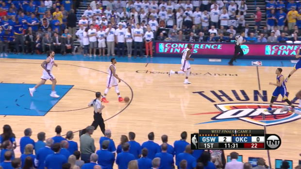 WSC: Stephen Curry scores 24 points in loss to the Thunder