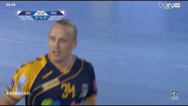 Hand - D1 : Saint-Raphael 32-31 PSG Handball