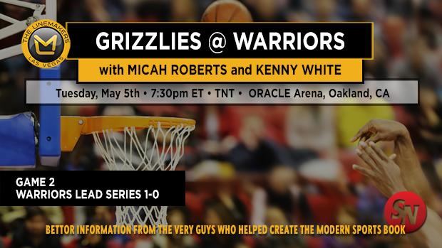 Grizzlies @ Warriors Game 2