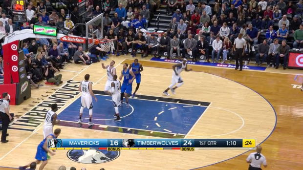 WSC: Dirk Nowitzki 8 points vs the Timberwolves