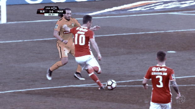 Jonas doppelt kaltschnäuzig bei Benficas Sieg
