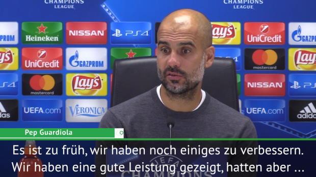 """Guardiola: """"Den Respekt der Gegner erarbeiten"""""""