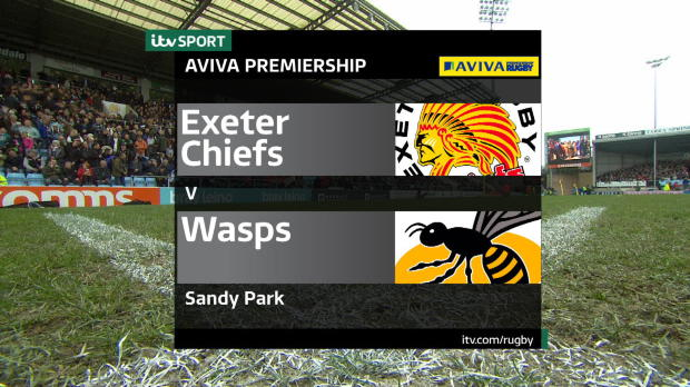 Aviva Premiership - Highlights - Exeter Chiefs v Wasps