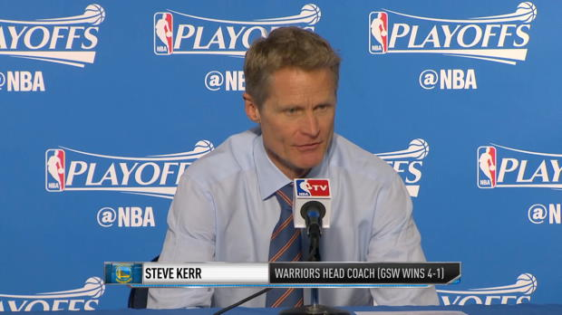 Warriors Talk Series Clinching Win