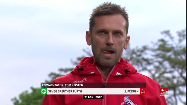 2. Bundesliga: SpVgg Greuther Fürth - 1.FC Köln   DAZN Highlights