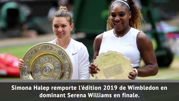 Basket : Wimbledon - Halep corrige Serena Williams en finale
