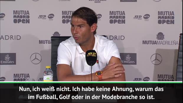 Gehaltsunterschiede interessieren Nadal nicht