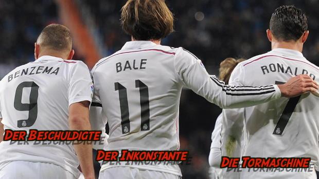 BBC: Real Madrids Sturm-Trio im Profil