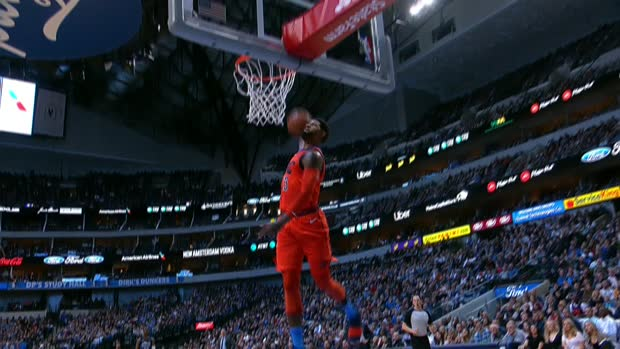 Dunk of the Night : Paul George