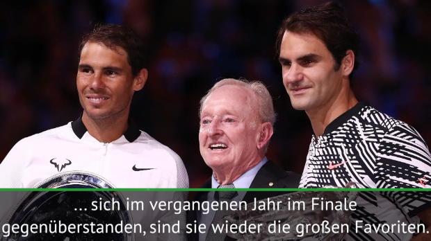Australian Open: Djoker setzt auf Federer, Nadal
