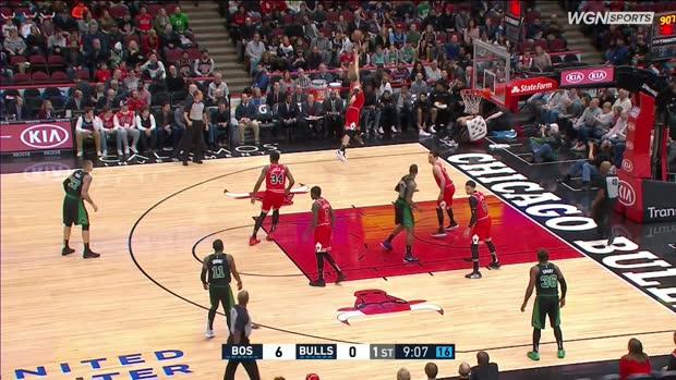 GAME RECAP: Celtics 133, Bulls 77
