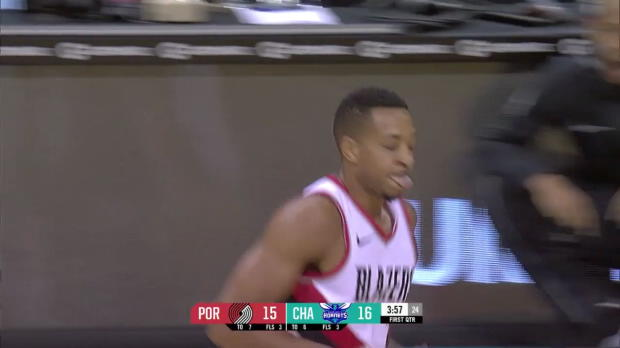 WSC: CJ McCollum (25 points) Highlights vs. Charlotte Hornets