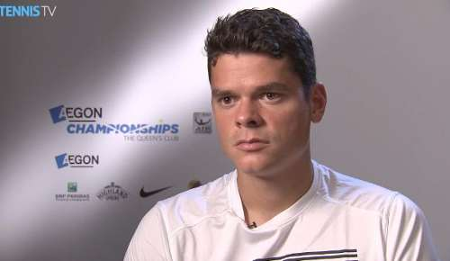 Raonic Interview: ATP Queen's 2R