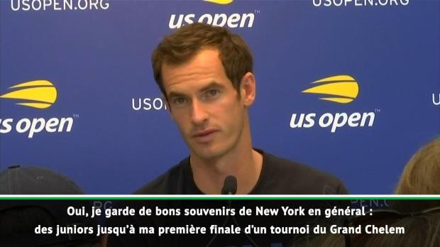 : US Open - Murray - 'Plein de bons souvenirs ici'