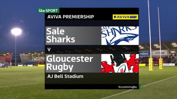 Aviva Premiership - Sale Sharks v Gloucester Rugby