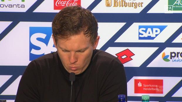 "Nagelsmann trotz 1:4: ""Überlegene 1. Halbzeit"""