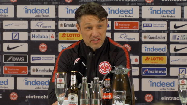 """Kovac vor Bayern: """"Wichtig ist die Eintracht"""""""