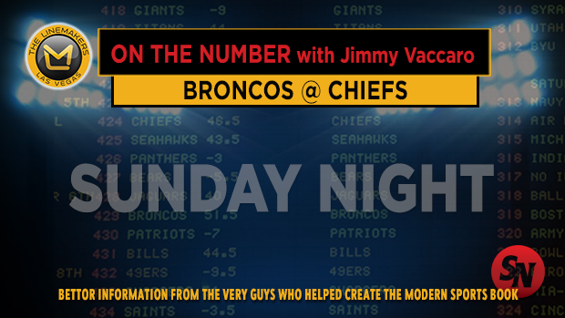 Jimmy V on Broncos @ Chiefs