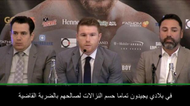 ملاكمة: وزن الوسط: لربّما سنشهد ضربة فنيّة قاضية بيني وغولوفكين- ألفاريز