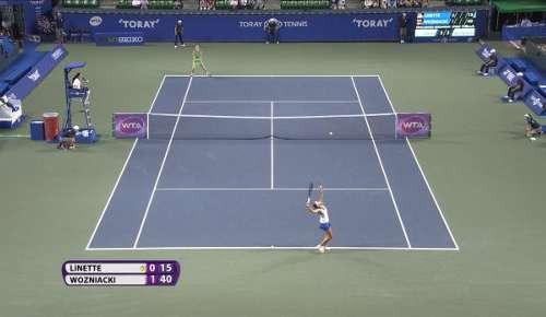 Linette v Wozniacki Highlights: WTA Tokyo QF