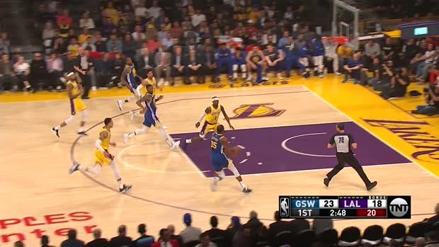 GAME RECAP: Warriors 130, Lakers 111