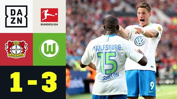 Bundesliga: Bayer 04 Leverkusen - VfL Wolfsburg | DAZN Highlights